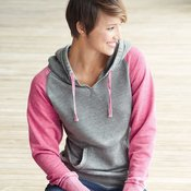 Women's Zen Fleece Raglan Sleeve Hooded Sweatshirt