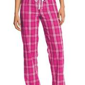 Juniors Flannel Plaid Pant