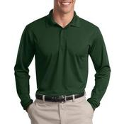 Mens Micropique Sport Wick L/S Polo